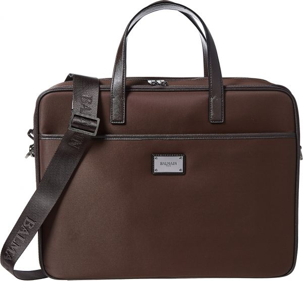 Balmain Messenger Bag For Men Brown