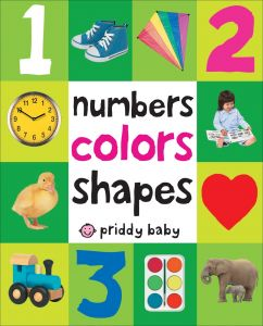 Numbers Colors Shapes First 100, Board book