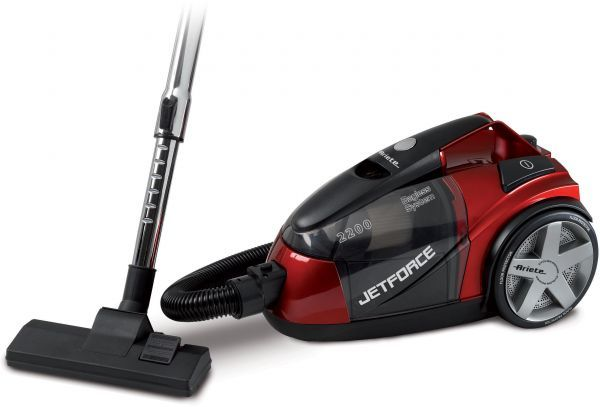 Ariete jet force bagless vacuum cleaner 2200 watts red for Ariete cordless sweeper
