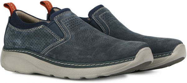39417a40d9 Clarks Casual Shoe for Men - 10.5 US , Navy