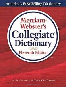 Image result for merriam webster collegiate dictionary
