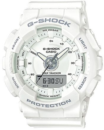 d268744895c Casio G-Shock Men s White Dial Resin Band Watch - GMA-S130-7ADR. by Casio