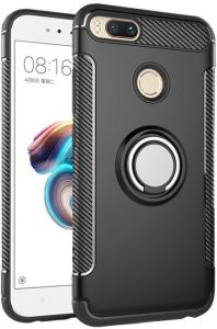 Xiaomi Redmi NOTE5A PRIME (Y1) Case with Ring Holder Magnetic Suction Bracket for Car Kickstand Shell Cover