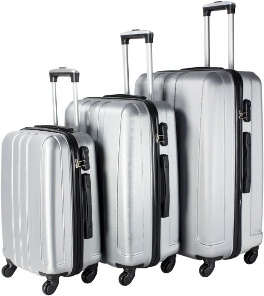 Travel Vision Luggage Trolley Bags Set Of 3 Pieces  36ee95e35e86c