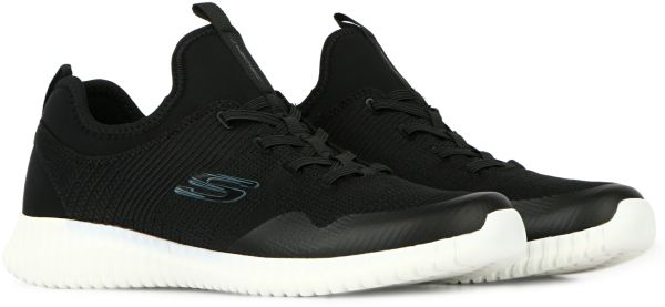 Skechers Elite Flex Lasker Training Shoes for Men, Black