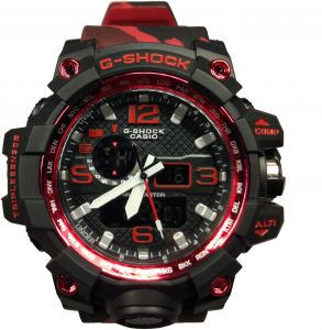 93e62241232 G-SHOCK Men s Black Dial Resin Band Watch - 1036 GPW 1000