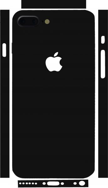 Binding sticker for iPhone