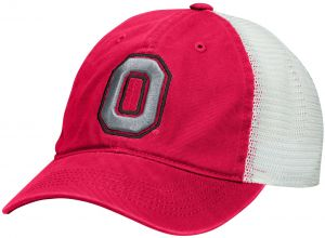 72abbf34cb9 J America NCAA Ohio State Buckeyes Adult Men Superfly Slouch Mesh Flex Cap