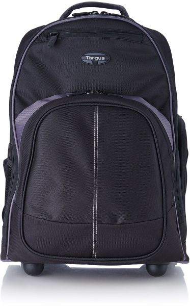 f5a181a4ce8a Targus Compact Rolling Backpack for 16-Inch Laptops, Black (TSB750US)