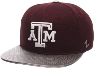 NCAA Zephyr Texas A/&M Aggies mens Tatter Relaxed Hat Adjustable Maroon