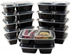 2e1f82bae28 ZHIguanjia Disposable Food Storage Containers - 50 Pieces