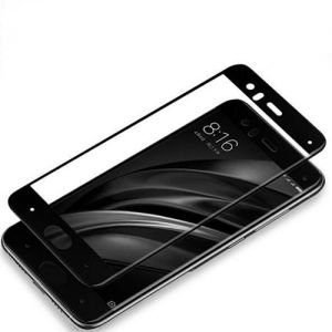 Xiaomi Mi 6 Tempered Glass Full Coverage HD Ultra Clear Film Protection Shield Screen Protector for Xiaomi Mi6 Black SAPU