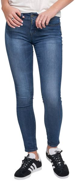 73987ee9d1b Silver Jeans Women s Aiko Slightly Curvy Mid-Rise Super Skinny Jeans ...