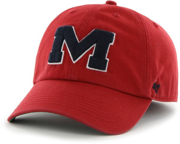 91a165cac57fa coupon for 47 ncaa mississippi ole miss rebels franchise fitted hat red  small ef320 72ac8