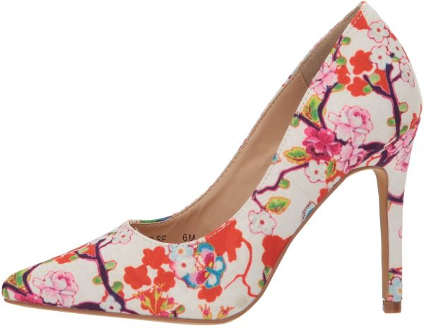 541eae12bce Penny Loves Kenny Women's Opus SF Pump, White Floral, 12 Wide US ...