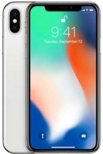 Apple Iphone X With Facetime - 256 GB, 4G LTE, Silver, 3 GB Ram, Singl...