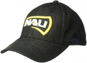 adidas NCAA Northern Arizona Lumberjacks Adult Men Player Heathered Slouch  Hat 878022cdf4b6