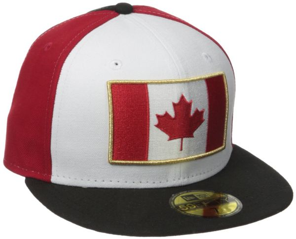 new era cap mens spirit canada fitted hat multi 6 7 8