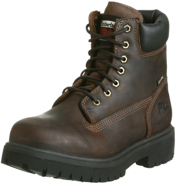 Timberland PRO Men's Direct Attach Six Inch Soft Toe Boot, Brown Oiled Full Grain,12 W