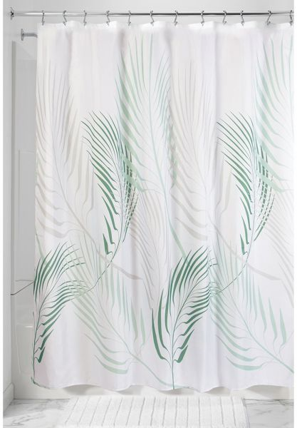 InterDesign Botanical Shower Curtain 72 X 57920