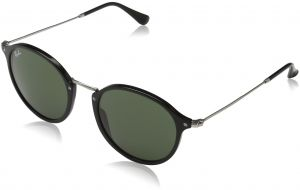 e7fc3b36b941 Ray-Ban Acetate Man Sunglasses - Black Frame Green Lenses 52mm Non-Polarized