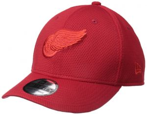 84f990641ec New Era NHL Detroit Red Wings Adult Tone Tech Redux OTC 39THIRTY Stretch  Fit Cap