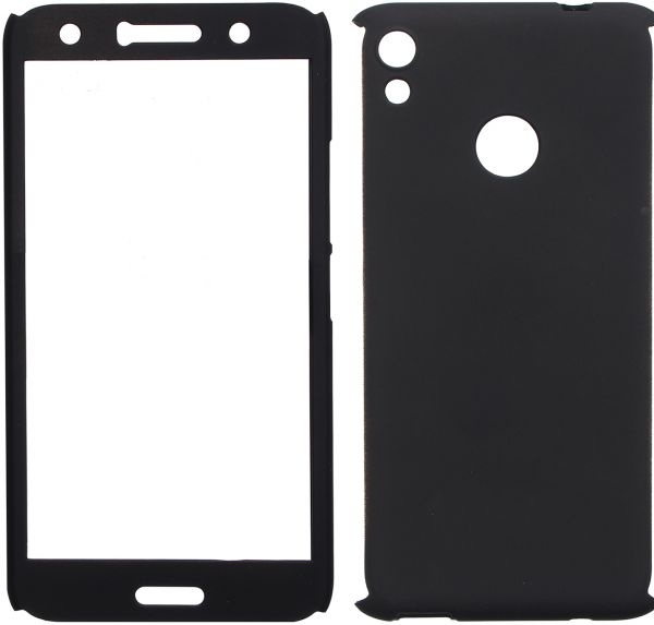 Cover 360 With Screen Protector For Infinix Hot 5 Pro X559C, Black