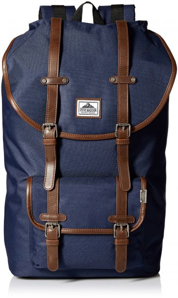 Steve Madden Men s Solid Nylon Utility Backpack f4598549ed626
