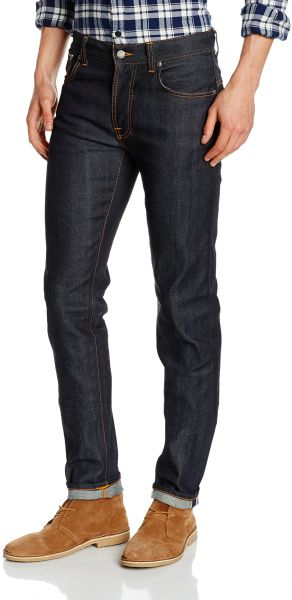 Nudie Jeans Men s Thin Finn Dry Selvage Comfort 7a2072c4f61b