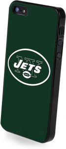 680b86fae32 Forever Collectibles NFL Team Logo Protective iPhone 5 5S Hard Case -  Retail Packaging - New York Jets