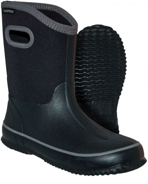 Itasca Kids Youth Puddle Hopper Waterproof Rain Boot