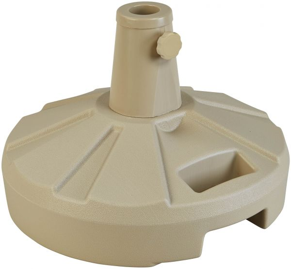 Free Standing Umbrella Base With Stand 11 5 Inch Beige 00264 Plc 1