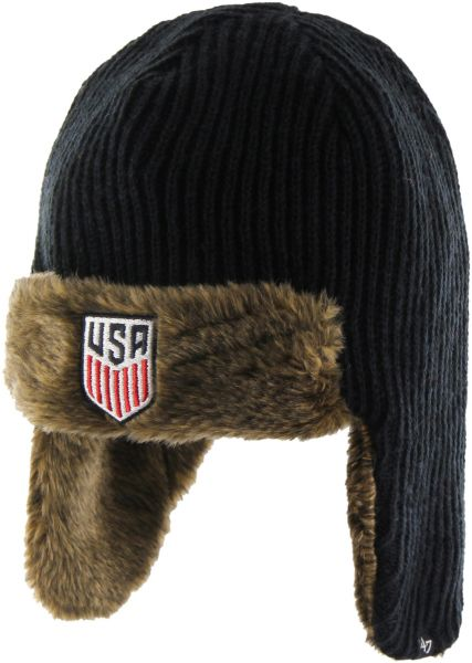 47 World Cup Soccer United States Orca Sherpa Knit Beanie 9aa367ae2ad