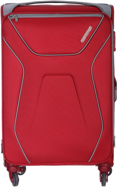 American Tourister Aa9-00-001 Luggage Trolley Bag For Unisex - Red ... 226aad16835e4