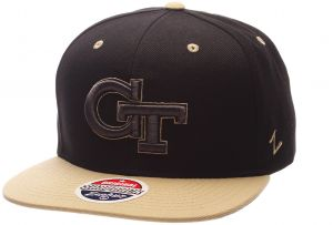 f3eccbc9 Zephyr NCAA Georgia Tech Adult Men's Z11 Phantom Snapback Hat, Adjustable  Size, Black/Team Color