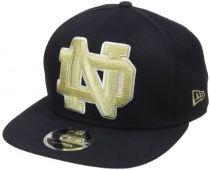 529ad2317ca78 NCAA Notre Dame Fighting Irish Logo Grand Snap 9Fifty Original Fit Cap