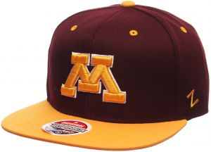 promo code 2f9e6 14915 NCAA Minnesota Golden Gophers Men s Z11 Snapback Hat, Adjustable Size, Team  Color