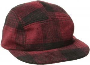 b27489f40a1 San Diego Hat Co. Men s Plaid Cap Hat with Adjustable Leather Strap