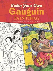 Color Your Own Gauguin Paintings Dover Art Coloring Book