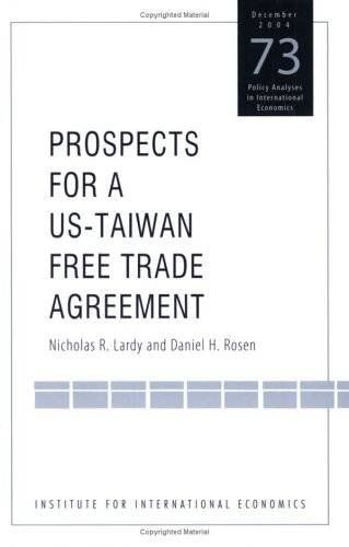 Souq Prospects For A Us Taiwan Free Trade Agreement Policy