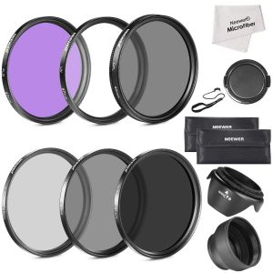 Neewer 67MM Must Have Lens Filter Accessory Kit for CANON Rebel T5i T4i T3i T3 T2i, EOS 700D 650D 600D 550D 70D 60D 7D 6D DSLR Cameras with 18-135MM EF-S IS ...