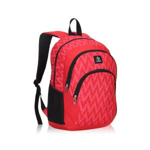 Veegul Cool Backpack Kids Sturdy Schoolbags Back to School Backpack for Boys  Girls Red 63f2fb0938df7