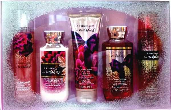 a813db6e11 bath and body works a thousand wishes 5 gift set Price in UAE | Souq ...
