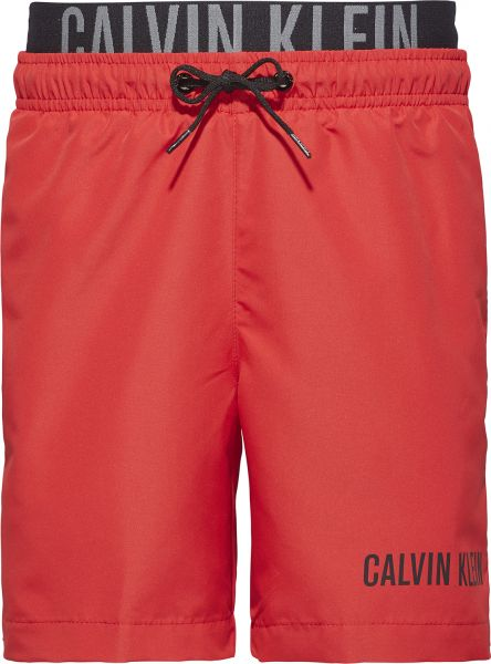 19a834a92acd Buy Calvin Klein Red Swim Short For Boys in Saudi Arabia