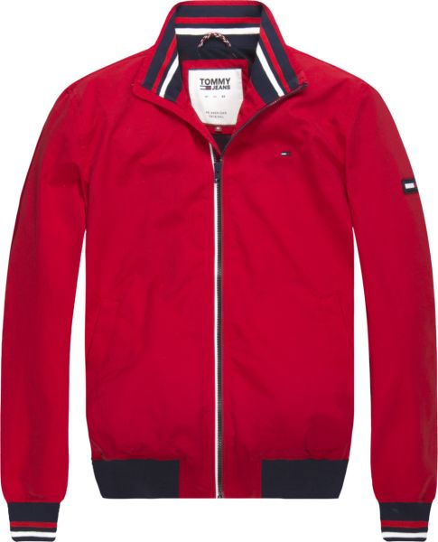 3dfb50ff Tommy Hilfiger Bomber Jacket For Men - Red Price in Saudi Arabia ...