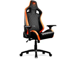 comfortable gaming chair.  Comfortable Cougar ArmorS Ergonomic Comfortable Gaming Chair OrangeBlack With Chair