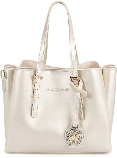 Buy Beverly Hills Polo Club Tote Bag for Women - Gold in Egypt d3a0de9050f84