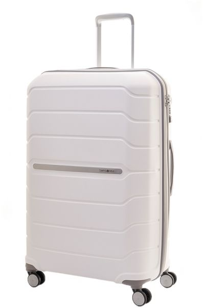 buy special discount of matching in colour Samsonite Octolite Luggage Trolley Bags Size 75 , White 3.7 ...