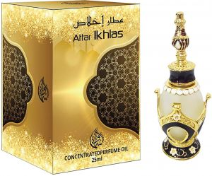 Attar Ikhlas by Samawa For Unisex - Perfume Oil, 25ml