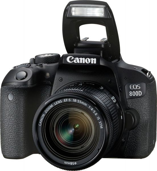 Canon EOS 800D Digital SLR with 18-55 IS STM Lens
